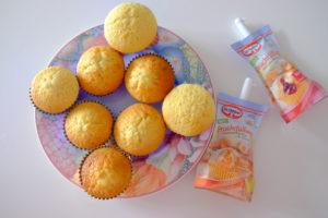 Vanille Muffin mit Marmeladenfüllung 27