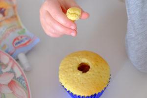 Vanille Muffin mit Marmeladenfüllung 24