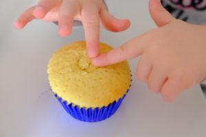 Vanille Muffin mit Marmeladenfüllung 21
