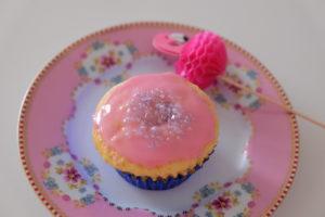 Vanille Muffin mit Marmeladenfüllung 4