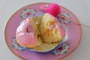 Vanille Muffin mit Marmeladenfüllung 3