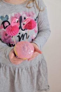 Vanille Muffin mit Marmeladenfüllung 5
