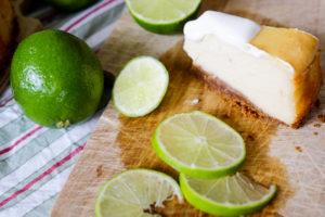 Limetten Cheesecake