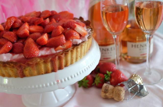 Erdbeerenkuchen