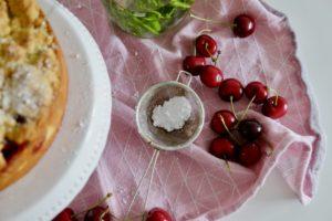 Kirschkuchen mit Streuseln 1